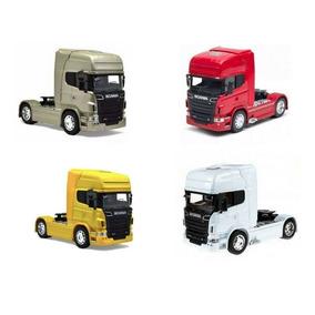 Miniatura Caminhão Scania Welly Escala 1.64 (unidade