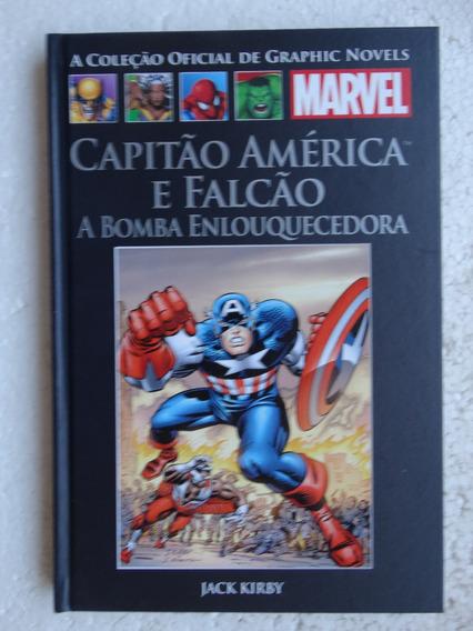Coleção Oficial De Graphic Novels Nº 36! Capitão América!