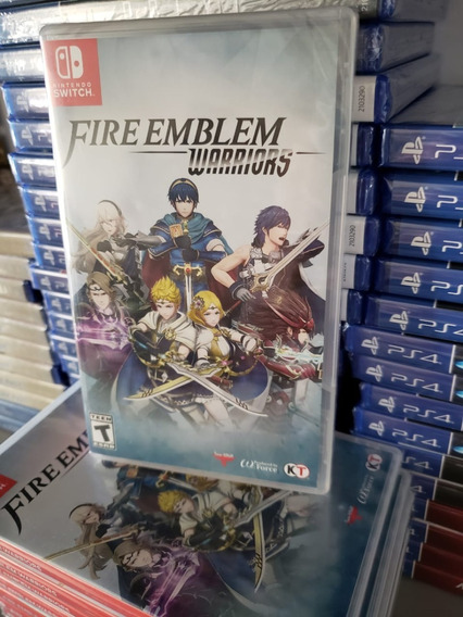 Fire Emblem Warriors Switch Midia Física Novo Lacrado