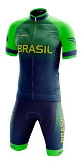 Conjunto Ciclismo Sódbike Olímpico - Camisa E Bermuda