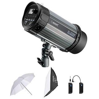 Neewer Kit Iluminación Fotografía 500 W + Flash Estroboscóp