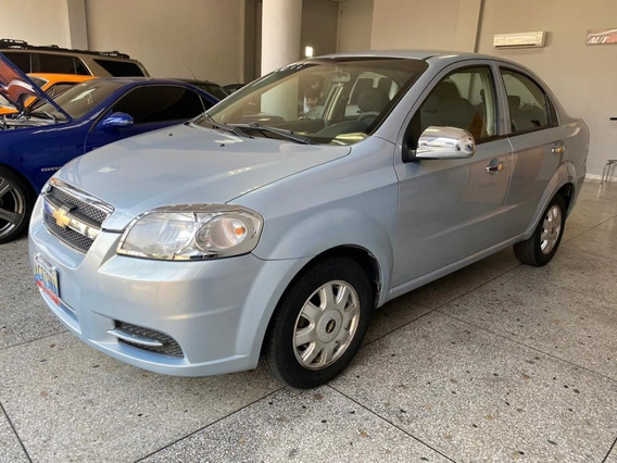 Chevrolet, Aveo Lt, Motor 1.6, Color Azul