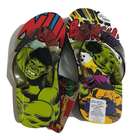 Ojotas Hulk- Comics Avengers Marvel !