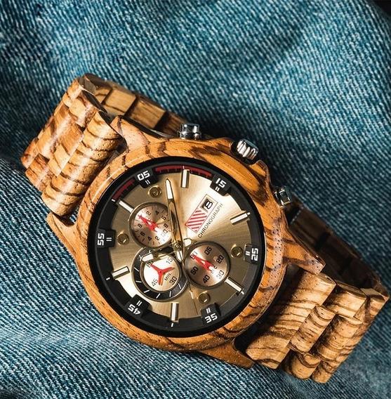 Relógio De Madeira Para Todas As Ocasiões