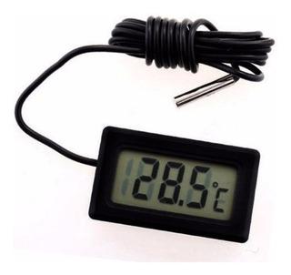 Termometro Digital Con Sonda Ideal Para Refrigerador Peceras