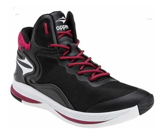 Zapatillas Topper Basquet Playmaker Ii Negras!!