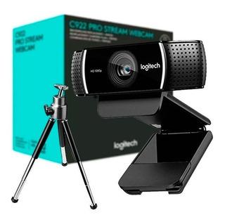 Webcam Logitech C922 C/tripode (587)