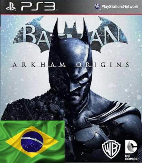 Batman Arkham Origins Mídia Física - 100% Pt-br - Ps3