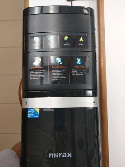 Desktop Com Monitor - Core 2 Duo E7500 2.93 Ghrz