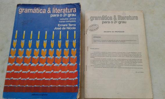 Gramática E Literatura 2o Grau Vol Único Professor