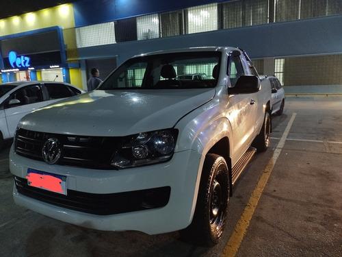 Imagem 1 de 8 de Volkswagen Amarok 2015 2.0 S Cab. Simples 4x4 2p