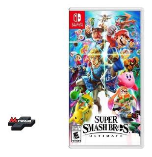 Super Smash Bros Ultimate/ Fisico Sellado Switch/ Mathogames