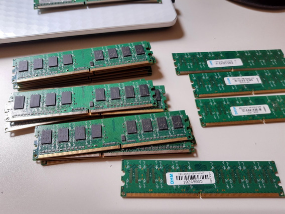 Memoria Ddr2 1gb Dhm 800mhz P/ Pc Desktop Com Nfa-e