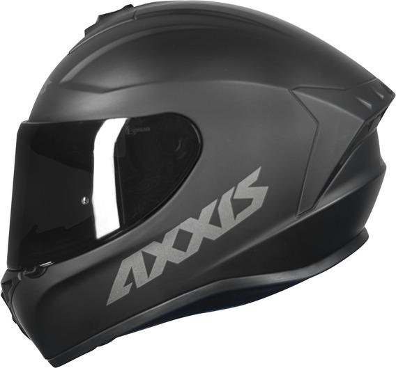 Capacete Axxis® Draken Preto Fosco Lançamento