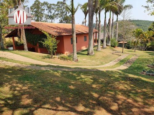 Chácara Maravilhosa Com Escritura, 3 Dormitórios, Pomar, Estilo Rústico, Bem Localizada, À Venda, 1000 M² Por R$ 450.000 - Zona Rural - Pinhalzinho/sp - Ch0775