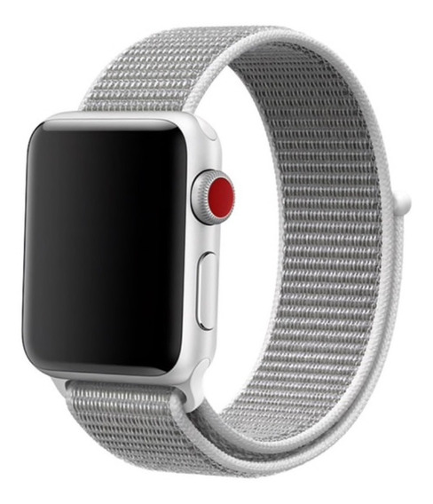 Correas Tipo Nylon Apple Watch 42 44 Mm Series 1-5 Genericas