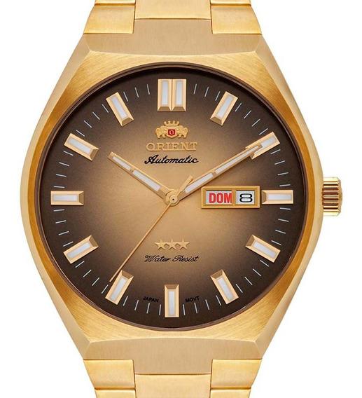 Relógio Orient Automático Dourado 469gp086 C1kx Masculino