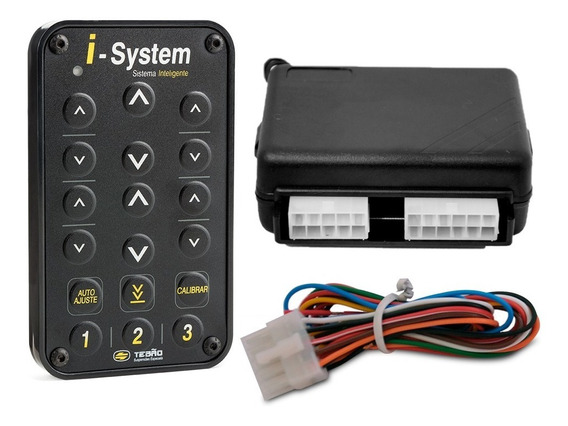 Controle I System + Chicote + Central