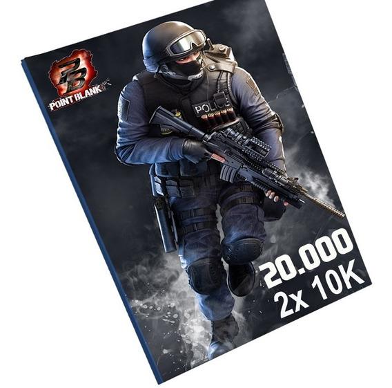 Cartão Pointblank 20000 Cash 20k - Melhor Preço !!