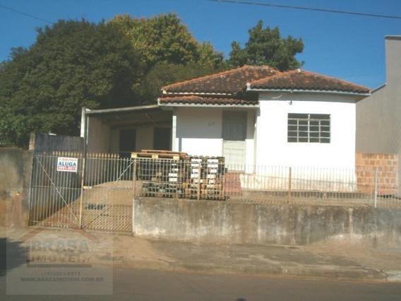 Casa Para Locação Em Presidente Prudente, Vila Formosa, 2 Dormitórios, 1 Banheiro, 2 Vagas - 00023.001