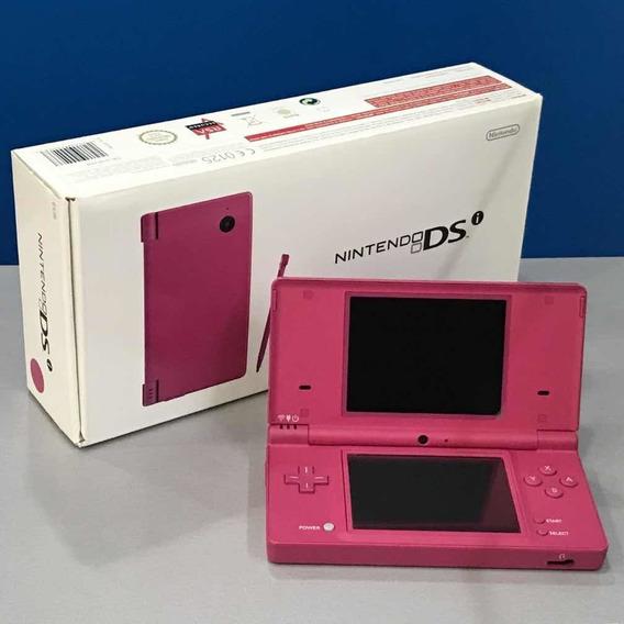 Nintendo Ds Rosa Com Jogos Instalados