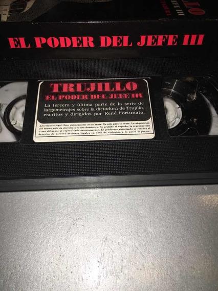 Película Cassette, Trujillo El Poder Del Jefe Iii