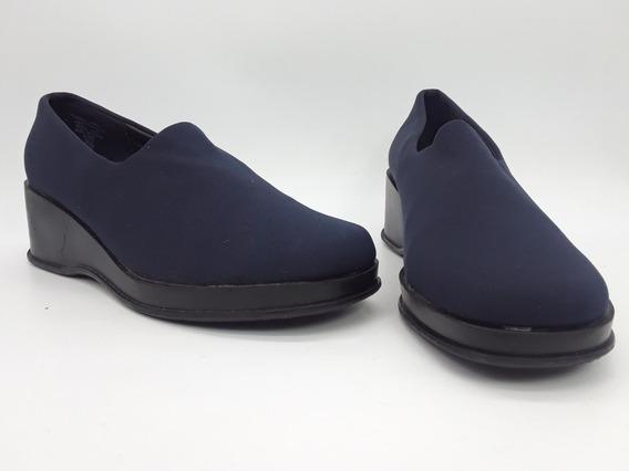 Espressions Foo4 Zapatos Plataforma Azul Oscuro Talla 24 Mex