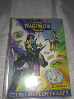Coleccionador De Caps Digimon Monsters 02 Panini Vacio