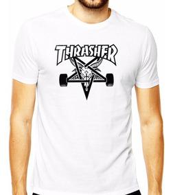 Camiseta Camisa Thrasher Logo Skate Board Goat Magazine Pnlp