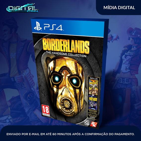 Borderlands The Handsome Ps4 Psn Game Digital Envio Hoje.
