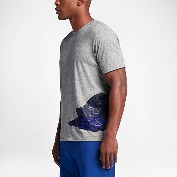 Remera Nike Jordan Wings L Dri Fit- Original Usa
