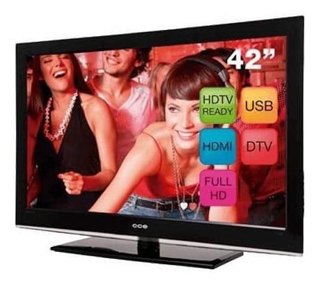 Tv 42 Cce Lcd Stile D4201 Full Hd Conver Digital Hdmi Usb
