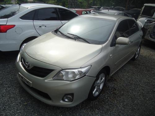 Sucata Para Peças Toyota Corolla 1.8 16v Gli 2012/2013 Aut