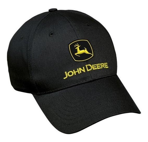 Cachucha John Deere 100% Original Negra Construccion Lp17593