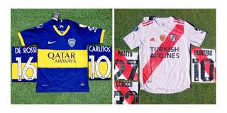 Camiseta, River Plate, Barcelona, Juventus, Boca Junior, Psg