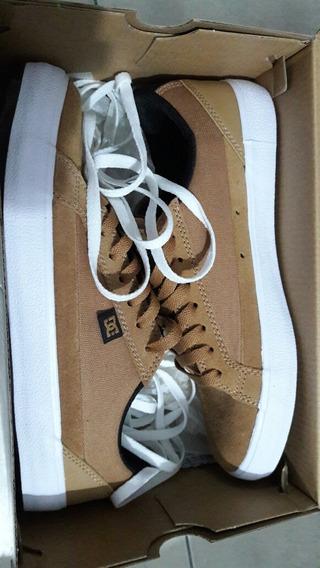 Zapatillas Dc Shoes Lynnfield S Marron/mostaza