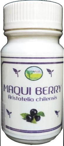 Maqui Berry 60 Caps 500 Mg 5 Frascos C/despacho: