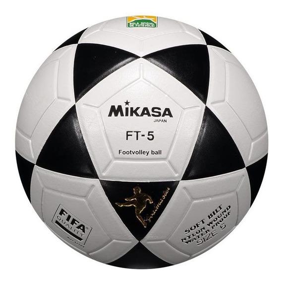 Bola Mikasa Futvôlei Ft5 Prata
