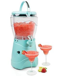 Nostalgia Msb1aq Margarita Y Slush Machine, 1 Gallon, Aqua