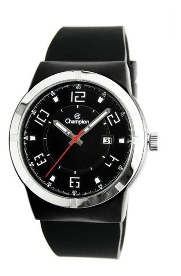 Relógio Champion Masculino Ref: Ca31597p Esportivo Black