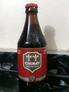 Cerveza Chimay Brune Trappist Importada Belgica,caballito