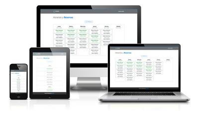 Sistema De Turnos Y Reservas De Clases Gestión Web Android