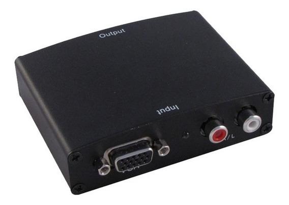 Conversor Vga + Áudio Para Hdmi Hitto Wb-100153