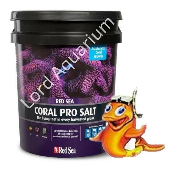 Sal Coral Pro 7kg Red Sea Balde Preto Rende Até 210 Litro
