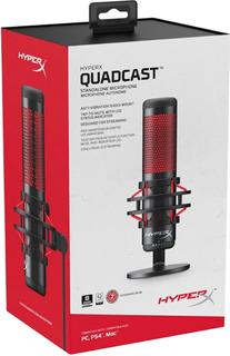 Micrófono Gamer Profesional Hyperx Quadcast Ps4 Pc- Boleta