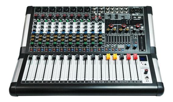Consola Analógica Vento Mix12fx-ii