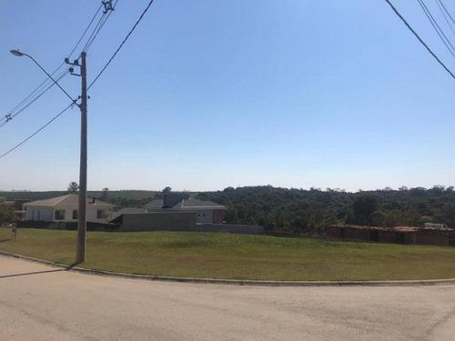 Terreno À Venda, 1077 M² Por R$ 390.000,00 - Parque Ecoresidencial Fazenda Jequitibá - Sorocaba/sp - Te4603