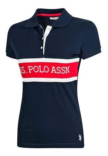Playera Dama U.s. Polo Assn. Uslpl-43-2607 Marino Sport T4