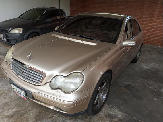 Venta Mercedes Benz C 329 Elegance Color Dorado Año 2001