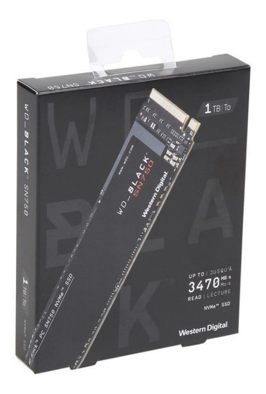 *lançamento* Wd Black Sn750 Ssd M.2 2280 1tb Pcie Nvme